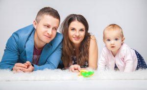 Семейная фотосессия в студии MartPhoto