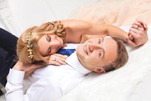 Свадебная фотосессия в студии MartPhoto