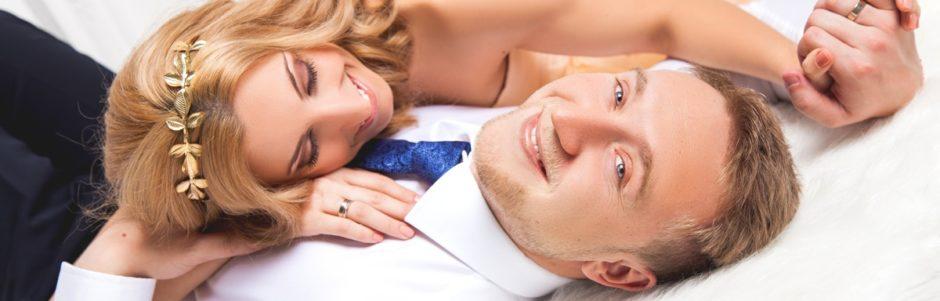 Идеи для студийной свадебной фотосессии
