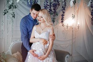 фотосессия беременной с мужем киев